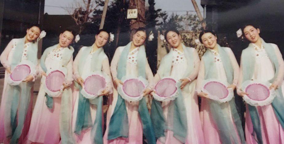 舞踊部の写真集