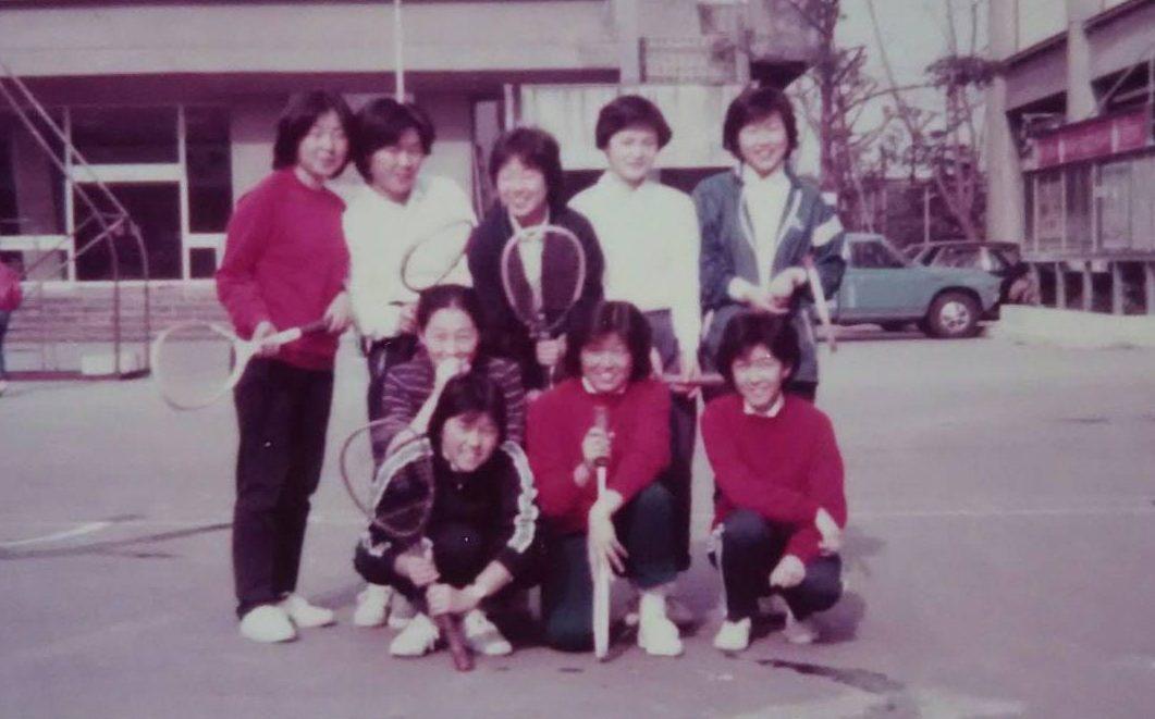 テニス部の写真集