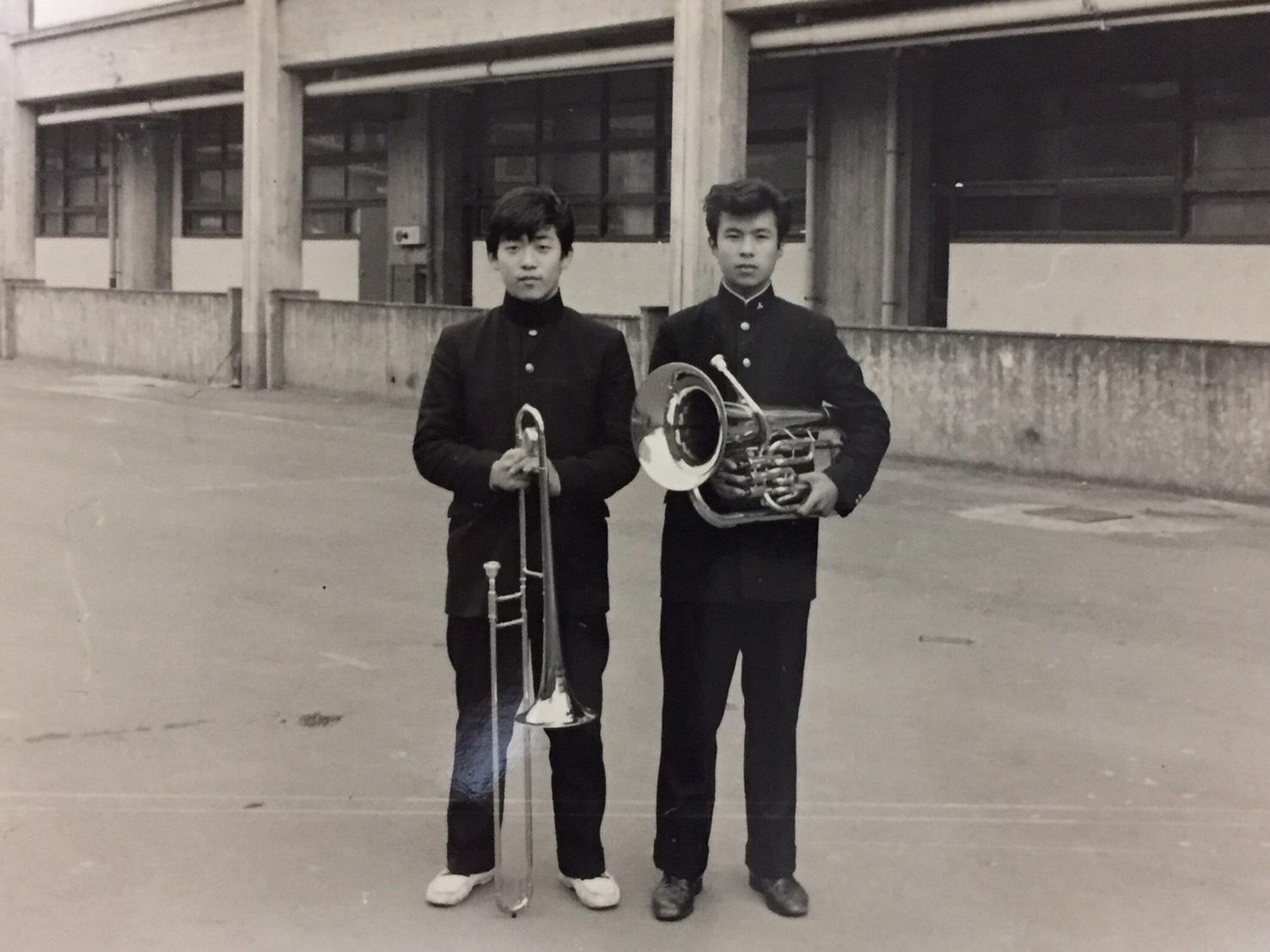 吹奏楽部の写真集